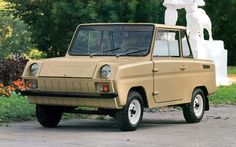 SMZ Invalidka : Presenting a level of ugliness you can only find in cars made in communist countries.