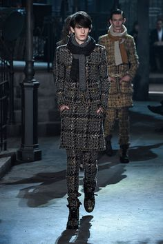 Yes, Chanel has menswear. Here are some of the standout looks your boyfriend would be ooh-ing and ah-ing over if he loved Chanel as much as you do. Art Chanel, Chanel Men, Chanel 2015, Rome, Carine Roitfeld, Popsugar, Luxury Branding, Karl Lagerfeld, Dior