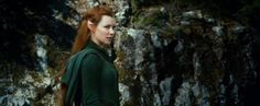 Evangeline Lilly in a still from ‪#‎TheHobbit‬ : The Desolation of Smaug. Coming Soon.