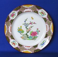 English Porcelain - Antique Copeland Spode Hand Decorated Rack Plate Pattern Number 5762 - 25cm for sale in Durban (ID:226651399)