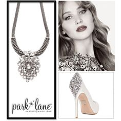 Park Lane Glamorous by parklanejewelry on Polyvore featuring Badgley Mischka, jewelry, necklace, glam, rendezvous and parklanejewelry