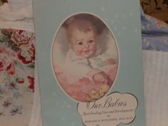 Baby Book Entitled Our Babies Copyright by HistoryHouseAntiques