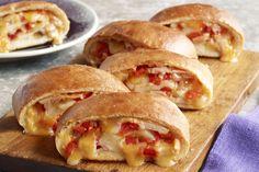 Stromboli de queso y pavo Receta