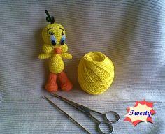 Amigurumi Tweety | Zan Crochet