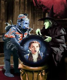 Margaret Hamilton terrified me so much in the original Wizard of Oz it took me years to watch without my hands over my eyes. She will forever be the one to measure up to when it comes to wicked witches.