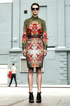 Givenchy Resort 2012 Collection Slideshow on Style.com