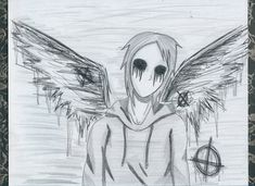 masky  Creepypasta drawings | Creepypasta: ''Fallen...'' by DarkGothicRussia555