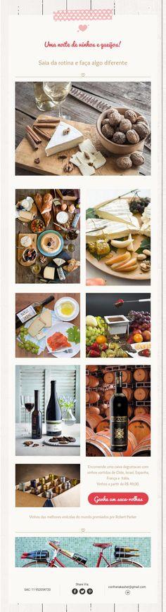 Uma noite de vinhos e queijos!