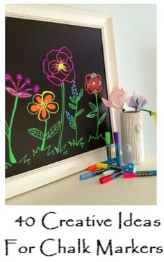 40 Creative Ideas For Chalk Markers - http://goldstarselections.com/gallery/