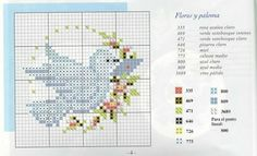 My treasures: Birds in cross stitch Cross Stitch Boards, Mini Cross Stitch, Cross Stitch Animals, Modern Cross Stitch, Cross Stitch Designs, Cross Stitch Patterns, Cross Stitching, Cross Stitch Embroidery, Embroidery Patterns