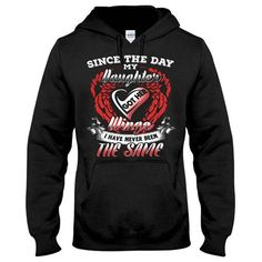 Family Shirt - since the day my daughter got her wings - Unisex Hoodie - SSID2016