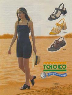 Calçados Tchocco Anos 90 #nostalgia #infância