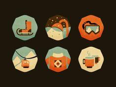 Retro Icons - Reflections on Web Design Trends in 2013 - Designmodo  #Depth