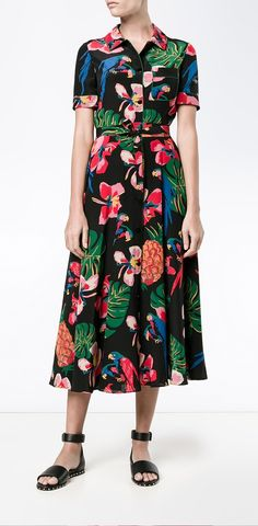 Find The One floral dress for summer at Farfetch now.