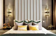 Eye For Design: Decorating With Art Deco Inspired Padded Headboards