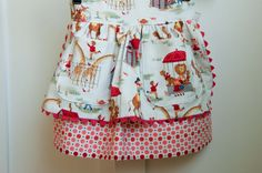 Sewing Pattern Girls Apron Dirndl Skirt PDF by AestheticNest, $6.00