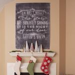 Ten June: Christmas Mantel + Link Party Vintage Inspired