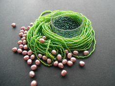 Curious Caterpillar Bead Color Idea