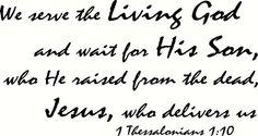 1 Thessalonians 1:10