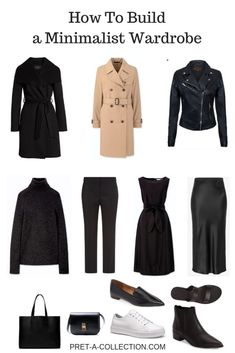Capsule Wardrobe My Way - A Year Without Shopping - Pret a Collection Pixel Tuning Shop Capsule Wardrobe Work, Capsule Outfits, Fashion Capsule, Wardrobe Basics, Mode Outfits, Fashion Outfits, Wardrobe Closet, Travel Outfits, Fashion Poses