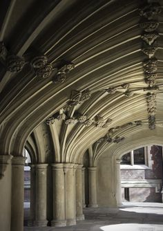 """Lincoln's Inn Chapel - """"Crypt"""" on ground level 