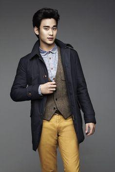 ZioZia F/W 2012 #KimSooHyun #김수현