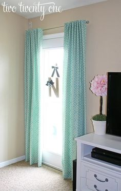 How to Make Curtains DIY - Two Twenty One