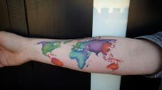 Watercolor map tattoo google search tattoos pinterest map watercolor map tattoo google search tattoos pinterest map tattoos watercolor map and tattoo gumiabroncs Images