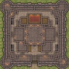Heroic Maps - Storeys: Raventhorn Keep - Heroic Maps   Buildings   Cities   Storeys   Castles   Wargame Vault