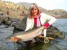 April Vokey Fly Fishing