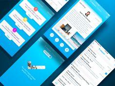 Zero App Main by ALEX BENDER   #Design Popular #Dribbble #shots