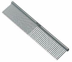 Andis Pet 7-1/2-Inch Steel Comb (65730)