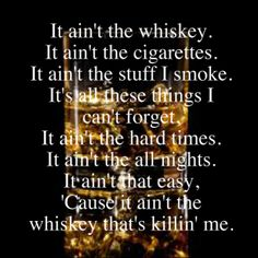 It Ain't the Whiskey - Gary Allan