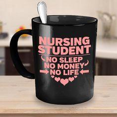 a76710ca6 Nursing Student Coffee Mug 11oz Black - Nursing Student Gift, Nursing  Graduation Gift, College Stud