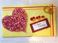 stranamasterov.ru/ The name of artist is written at the bottom, on the left - quilled valentine and heart cards (Searched by Châu Khang)