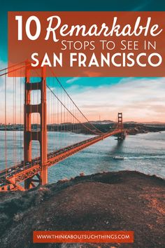 Anyone heading to the Bay Area soon?! There is so much to do there that it can be overwhelming. Here are some of the best places to see in San Francisco!