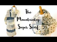 Free Crochet Pattern...Mountaintop Super Scarf! | Fiber Flux...Adventures in Stitching | Bloglovin'