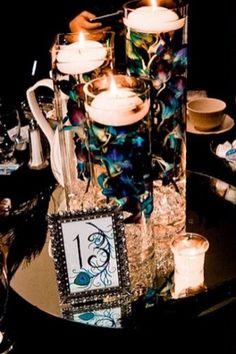 10 Ideas For Peacock Wedding Centerpieces Unique Style (73)
