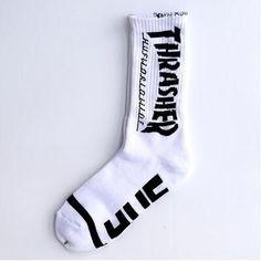 New Thrasher Socks Men Harajuku Hip Hop Dress Crew Long Sox Skateboard Fashion Casual Happy Meias Masculina Calcetines Hombre