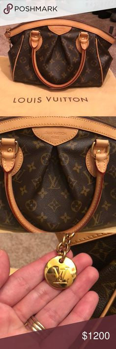 """Louis Vuitton Tivoli PM This is a VERY GENTLY USED condition with any flaws photographed. I have gently used this, the handles are in great shape, hardly any flaws. The only thing I can say is that it's just not """"NWT"""" but it's close. Will send to Poshmark HQ for inspection for authenticity, will include dust bag. Please ask any questions, I will do my absolute best to assist! I am offer friendly! Louis Vuitton Bags Louis Vuitton Tivoli, Fashion Tips, Fashion Design, Fashion Trends, Authenticity, Louis Vuitton Monogram, Dust Bag, Flaws, Shop My"""