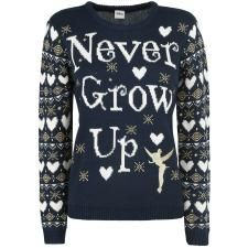 Tinkerbell - Never Grow Up Christmas Sweater