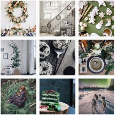 Get ahead of the holiday rush with a collection of festive content calendar inspiration. Content Marketing, Social Media Marketing, Today Calendar, December, Gallery Wall, Space, Business, Holiday, Floor Space