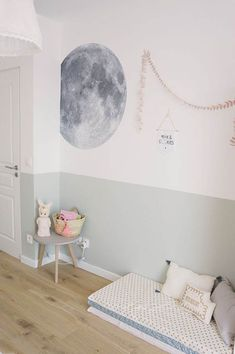 Outer Space Inspired Children's Decor The universe, outer space . Outer Space Inspired Children's Decor The universe, outer space .Outer space is one of the biggest mysterie. Baby Bedroom, Girls Bedroom, Bedroom Themes, Bedroom Decor, Kids Decor, Diy Home Decor, Casa Kids, Kids Room Design, Little Girl Rooms