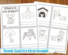 TGIF! - Thank God It's First Grade!: First Grade Common Core Language Activities and Printables!