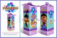 Cajas para Cotillones Personalizadas (Agnes / Mi Villano Favorito)   Lythium Art® Design by: Yil Siritt  #Favors #Cotillon #Cotillones #FiestaInfantil #Agnes #Mivillanofavorito #babyshower #girlpartyideas #girly #gifts #regalos #recuerditos