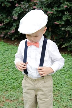 ring bearer but with grey or navy pants