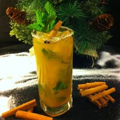 InterContinental New York Barclay: Holiday Mojito #Drinks #alcohol