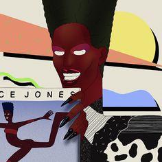 Grace Jones - Max Wittert