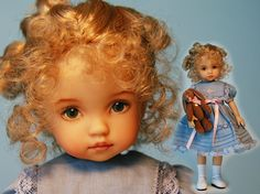 Vinyl Dolls by Diana Effner - OMG, I LOVE the faces on her dolls! So unbelievably adorable. $285.00