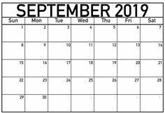 September 2019 Fillable Calendar: September 2019 Fillable Calendar Printable Template with Notes, Fillable September 2019 Calendar PDF, Word, and Excel Calendar 2019 Printable, Printable Calendar Template, 2019 Calendar, Calendar 2019 With Holidays, September Calendar, December, Calendar Layout, Calendar Pages